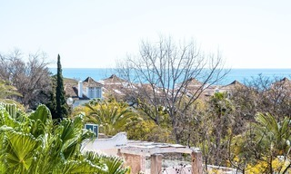 Apartment for sale with sea view on the Golden Mile at walking distance from the beach and Marbella center 2640