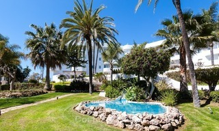 Apartment for sale with sea view on the Golden Mile at walking distance from the beach and Marbella center 2648