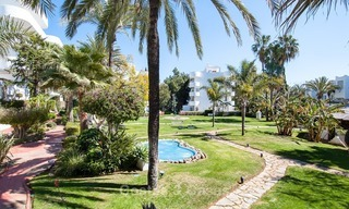 Apartment for sale with sea view on the Golden Mile at walking distance from the beach and Marbella center 2649