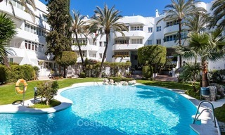 Apartment for sale with sea view on the Golden Mile at walking distance from the beach and Marbella center 2650