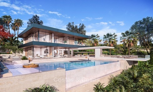 Modern Contemporary, Mediterranean lifestyle villa with sea view in Gated community for sale in Benahavis - Marbella 2720