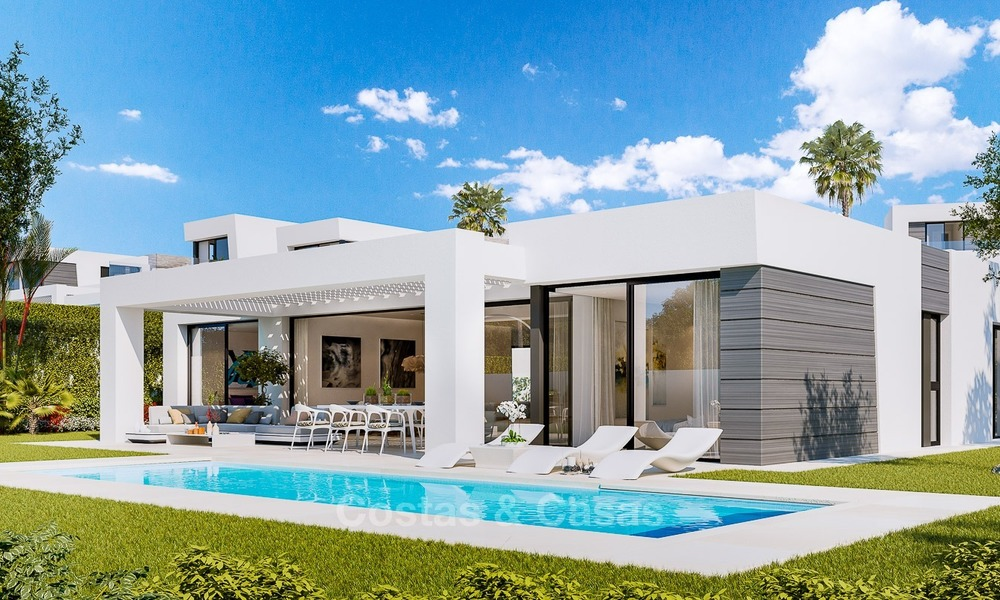 Contemporary, Modern Villas with Sea Views for sale at Walking distance to the Beach and Marina - Marbella East - Mijas 2817