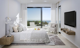 Contemporary, Modern Villas with Sea Views for sale at Walking distance to the Beach and Marina - Marbella East - Mijas 2807