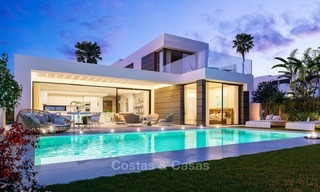 Contemporary, Modern Villas with Sea Views for sale at Walking distance to the Beach and Marina - Marbella East - Mijas 2819