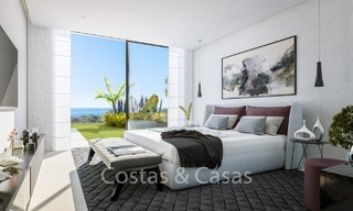 Contemporary, Modern Villas with Sea Views for sale at Walking distance to the Beach and Marina - Marbella East - Mijas 2808