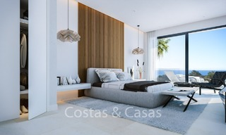Contemporary, Modern Villas with Sea Views for sale at Walking distance to the Beach and Marina - Marbella East - Mijas 2809
