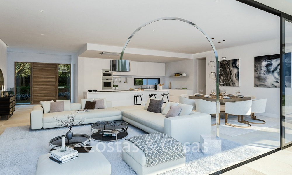 Contemporary, Modern Villas with Sea Views for sale at Walking distance to the Beach and Marina - Marbella East - Mijas 2810