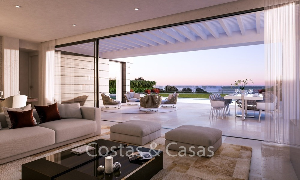 Contemporary, Modern Villas with Sea Views for sale at Walking distance to the Beach and Marina - Marbella East - Mijas 2811
