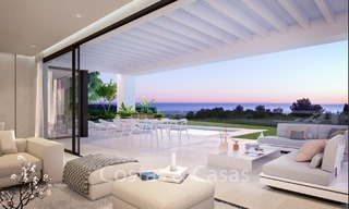 Contemporary, Modern Villas with Sea Views for sale at Walking distance to the Beach and Marina - Marbella East - Mijas 2813