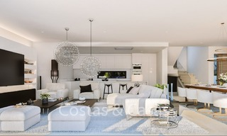 Contemporary, Modern Villas with Sea Views for sale at Walking distance to the Beach and Marina - Marbella East - Mijas 2814