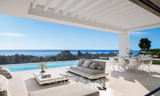 Contemporary, Modern Villas with Sea Views for sale at Walking distance to the Beach and Marina - Marbella East - Mijas 2815