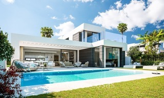 Contemporary, Modern Villas with Sea Views for sale at Walking distance to the Beach and Marina - Marbella East - Mijas 2816