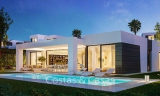 Contemporary, Modern Villas with Sea Views for sale at Walking distance to the Beach and Marina - Marbella East - Mijas 2806