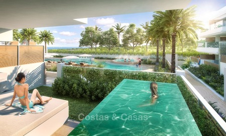 New luxury modern apartments with private pool for sale in Mijas, Costa del Sol 2787