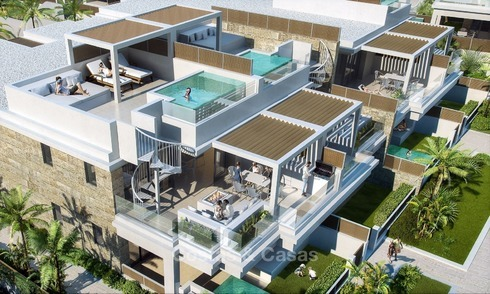 New luxury modern apartments with private pool for sale in Mijas, Costa del Sol 2788