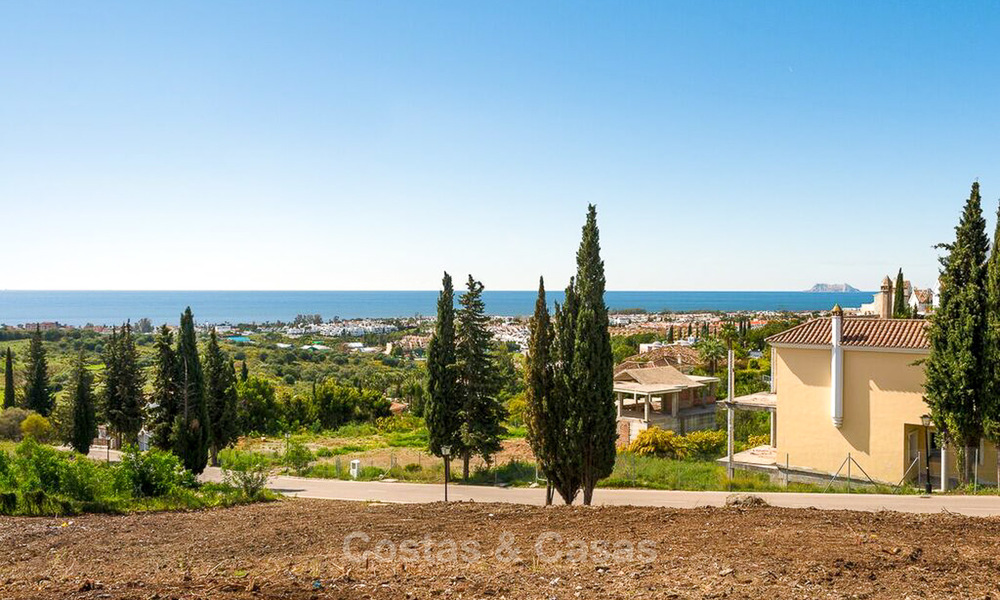 Opportunity! Building plot for sale with beautiful sea views in Benahavis - Marbella 2962