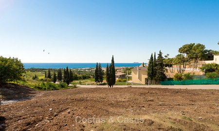 Opportunity! Building plot for sale with beautiful sea views in Benahavis - Marbella 2963
