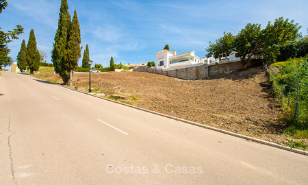Opportunity! Building plot for sale with beautiful sea views in Benahavis - Marbella 2965