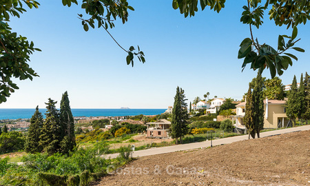 Opportunity! Building plot for sale with beautiful sea views in Benahavis - Marbella 2966