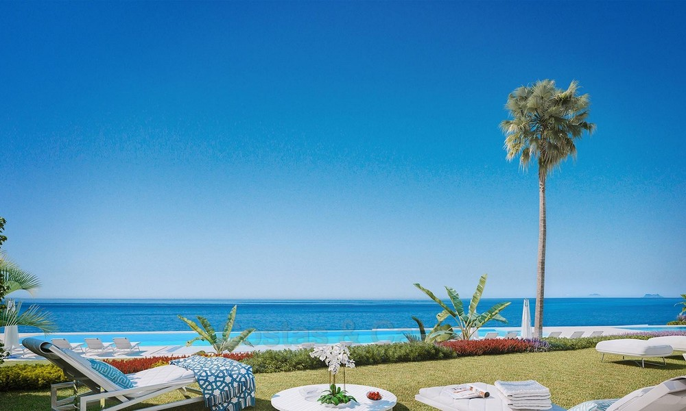 Exclusive New, Modern Front line beach Apartments for sale, New Golden Mile, Marbella - Estepona 3031