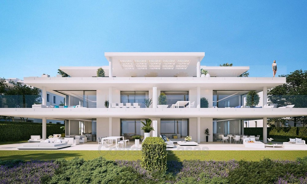 Exclusive New, Modern Front line beach Apartments for sale, New Golden Mile, Marbella - Estepona 3032