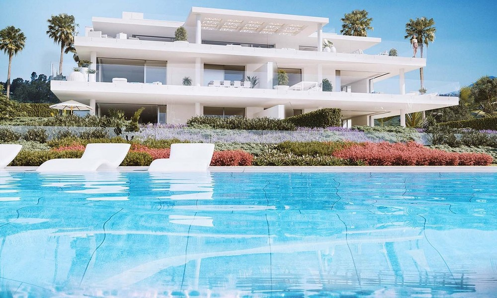 Exclusive New, Modern Front line beach Apartments for sale, New Golden Mile, Marbella - Estepona 3037