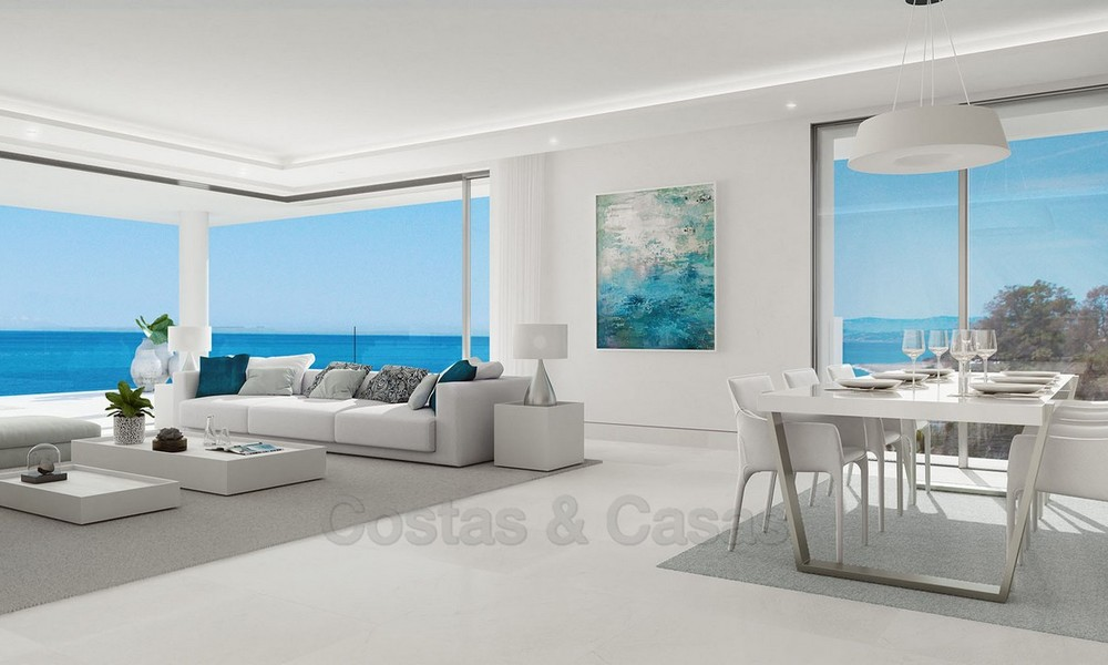 Exclusive New, Modern Front line beach Apartments for sale, New Golden Mile, Marbella - Estepona 3040