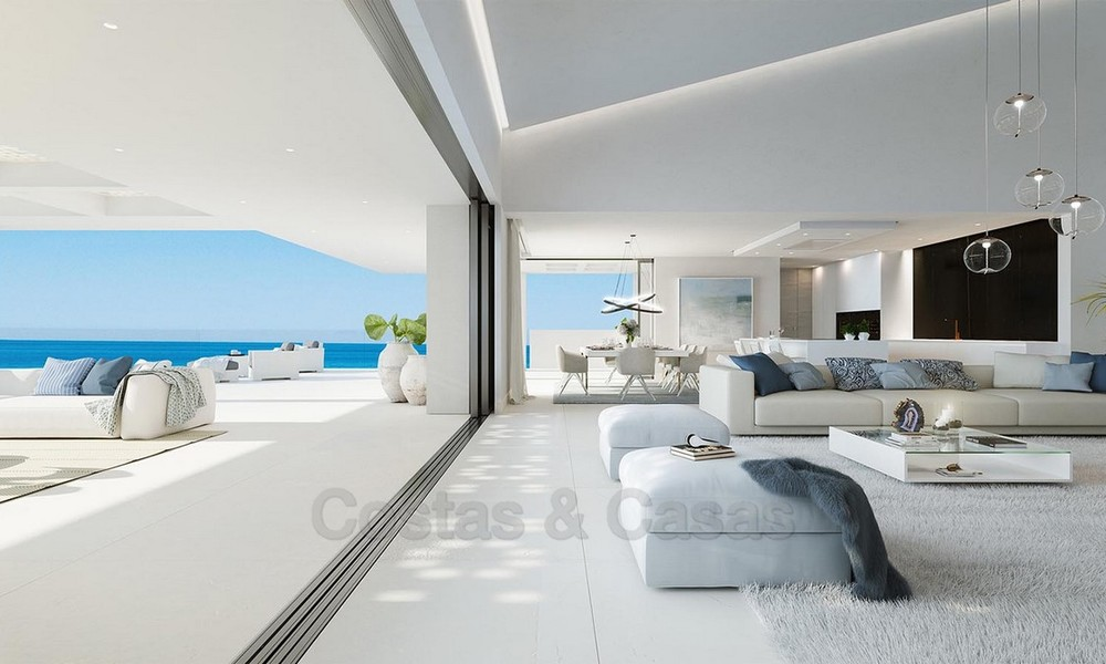 Exclusive New, Modern Front line beach Apartments for sale, New Golden Mile, Marbella - Estepona 3043