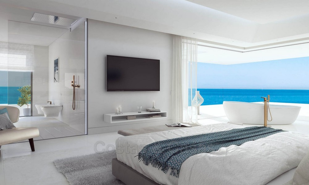 Exclusive New, Modern Front line beach Apartments for sale, New Golden Mile, Marbella - Estepona 3045