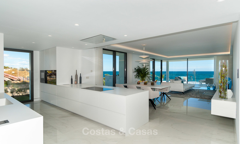 Exclusive New, Modern Front line beach Apartments for sale, New Golden Mile, Marbella - Estepona 2999