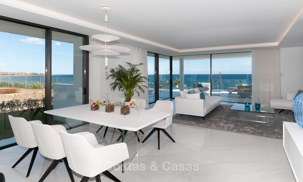 Exclusive New, Modern Front line beach Apartments for sale, New Golden Mile, Marbella - Estepona 3000