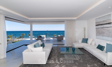Exclusive New, Modern Front line beach Apartments for sale, New Golden Mile, Marbella - Estepona 3002