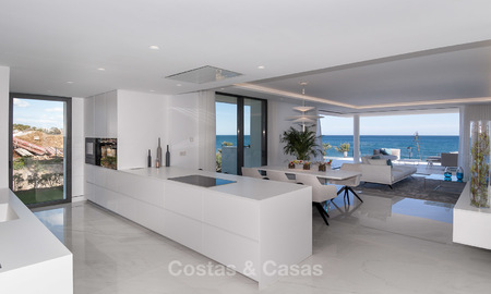 Exclusive New, Modern Front line beach Apartments for sale, New Golden Mile, Marbella - Estepona 3003