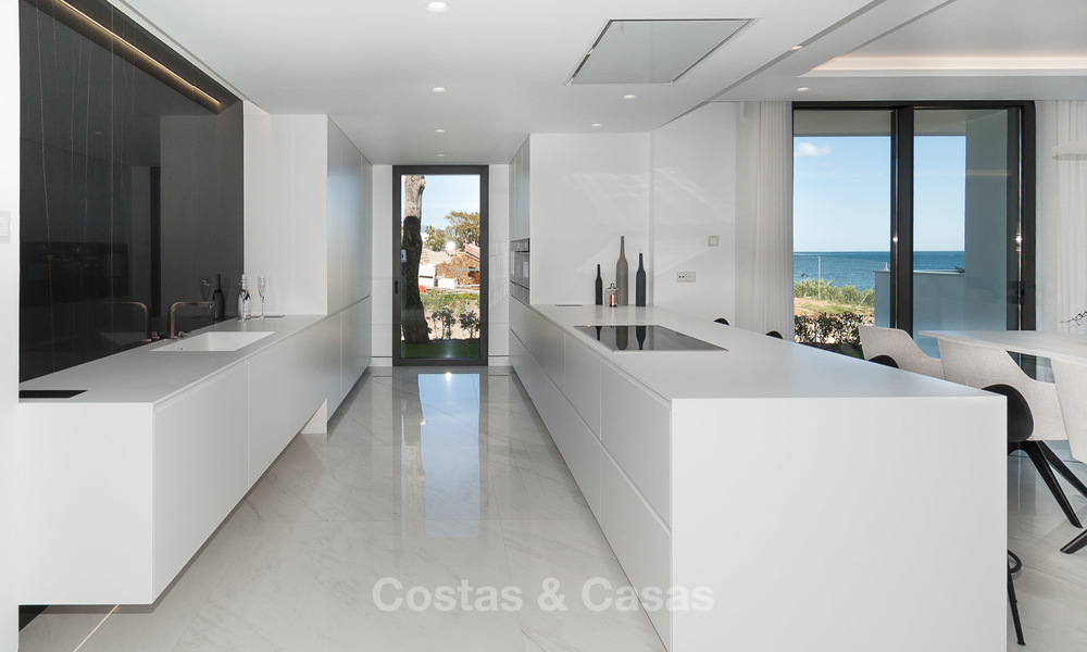 Exclusive New, Modern Front line beach Apartments for sale, New Golden Mile, Marbella - Estepona 3004