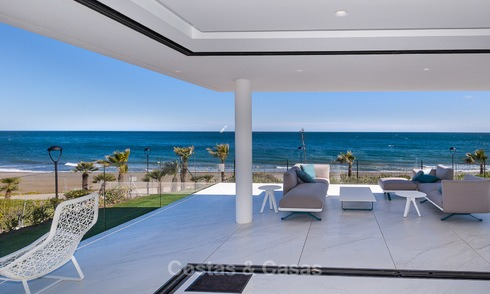 Exclusive New, Modern Front line beach Apartments for sale, New Golden Mile, Marbella - Estepona 3005