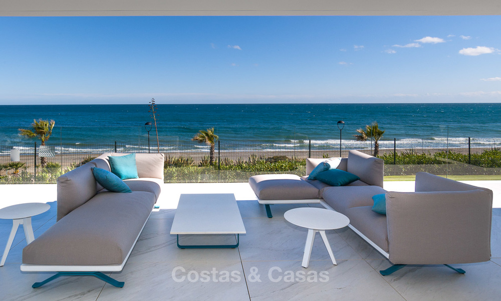 Exclusive New, Modern Front line beach Apartments for sale, New Golden Mile, Marbella - Estepona 3006