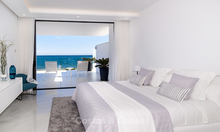 Exclusive New, Modern Front line beach Apartments for sale, New Golden Mile, Marbella - Estepona 3017