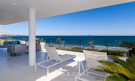Exclusive New, Modern Front line beach Apartments for sale, New Golden Mile, Marbella - Estepona 3018