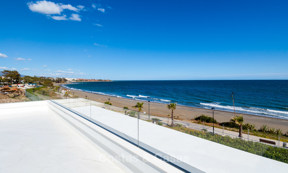 Exclusive New, Modern Front line beach Apartments for sale, New Golden Mile, Marbella - Estepona 3022
