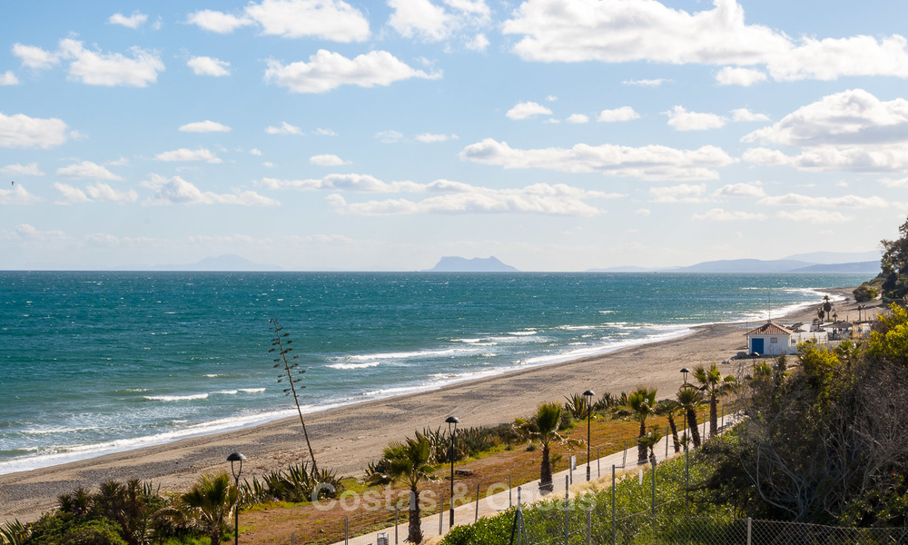Exclusive New, Modern Front line beach Apartments for sale, New Golden Mile, Marbella - Estepona 3026