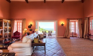 Spanish style luxury Villa with Panoramic views for sale set in a Luxurious Gated Golf Resort in Benahavis - Marbella 3178
