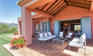 Spanish style luxury Villa with Panoramic views for sale set in a Luxurious Gated Golf Resort in Benahavis - Marbella 3180