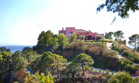 Spanish style luxury Villa with Panoramic views for sale set in a Luxurious Gated Golf Resort in Benahavis - Marbella 3170