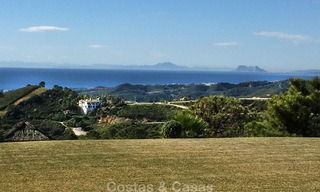 Spanish style luxury Villa with Panoramic views for sale set in a Luxurious Gated Golf Resort in Benahavis - Marbella 3172