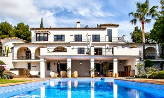 Spacious villa for sale on the Golden Mile in Marbella 3343