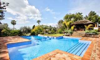 Spacious villa for sale on the Golden Mile in Marbella 3345