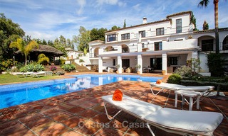 Spacious villa for sale on the Golden Mile in Marbella 3346