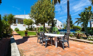Villa to Be Renovated For Sale in Estepona, Costa del Sol, With Stunning Sea Views and Near The Beach 3191