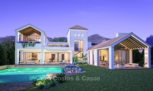 Gated Golf Resort, Frontline Golf Villas for Sale on The New Golden Mile, Marbella - Estepona 3285