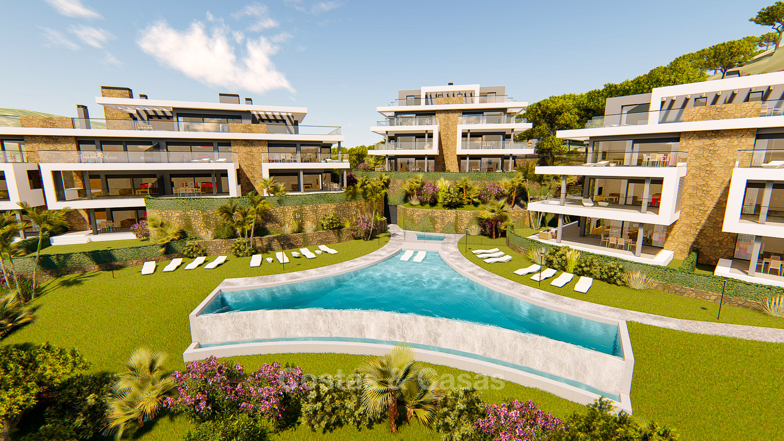 Brand New Modern Apartments For Sale Marbella And Estepona